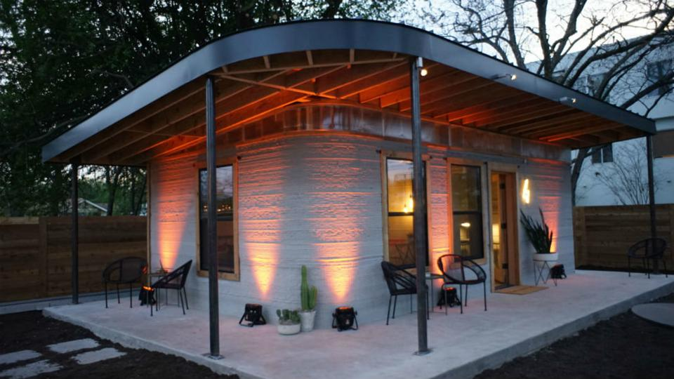 New Story and Icon's 3D Printed Home in Austin, Texas