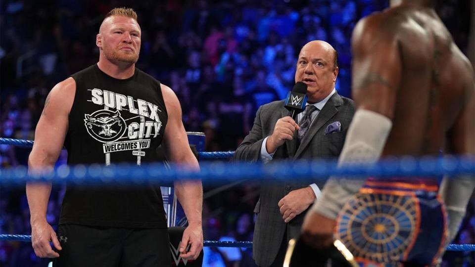WWE: Brock Lesnar and Kofi Kingston