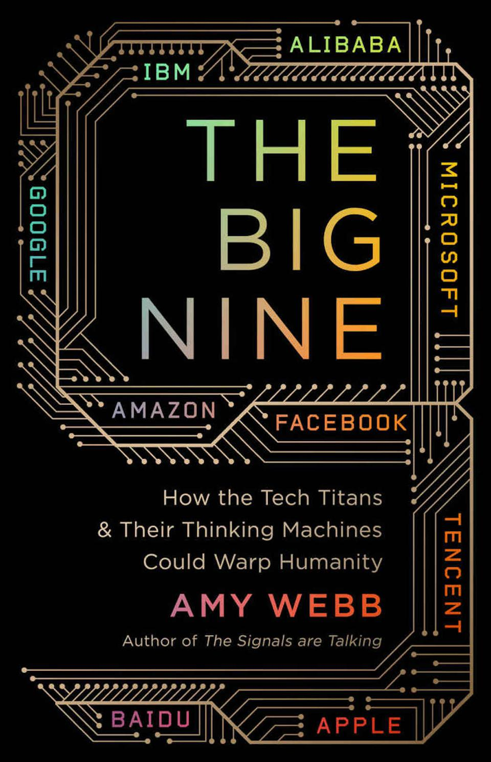The Big Nine: How the Tech Titans & Their Thinking Machines Could Warp Humanity by Amy Webb