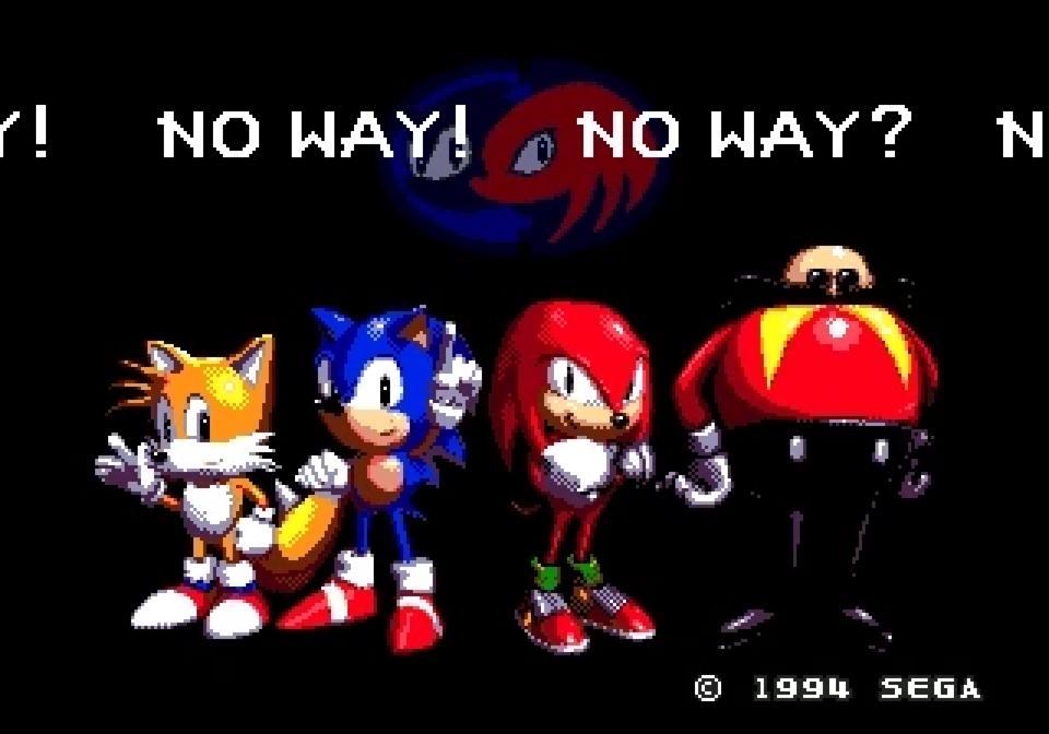 Sonic & Knuckles Blue Sphere
