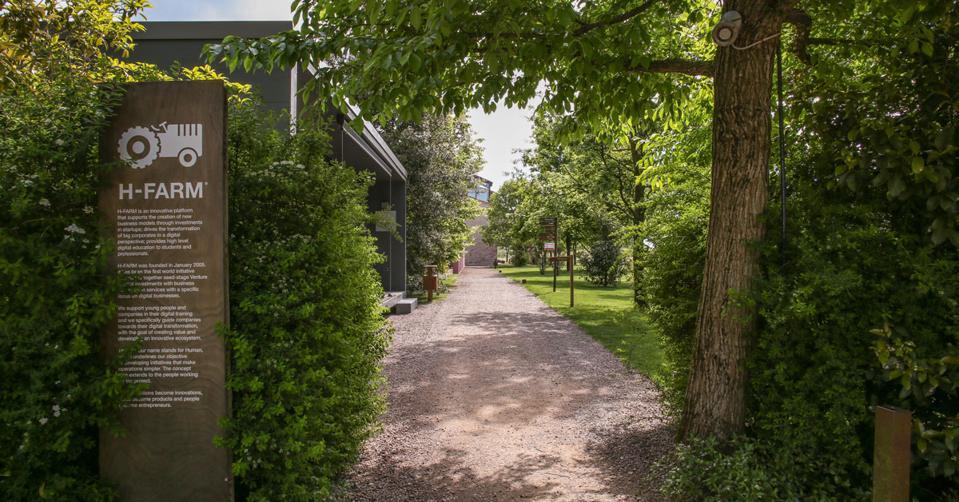 H-Farm's main campus near Treviso, Italy