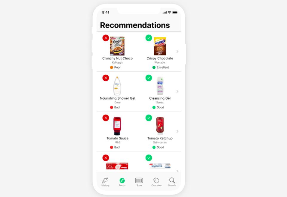 This App Deciphers Food Labels So You Can See Just How Healthy They Are To Eat