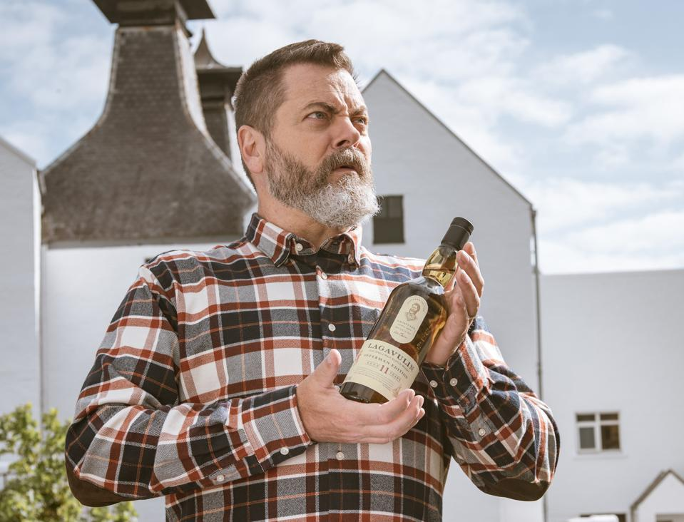 Ron Swanson Finally Has His Own Bottle of Lagavulin