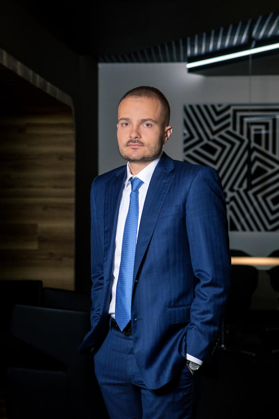 Michal Strnad is keen to develop CSG's IP