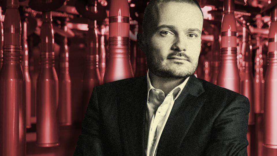 Michal Strnad, 27-years-old, 'industrialist'