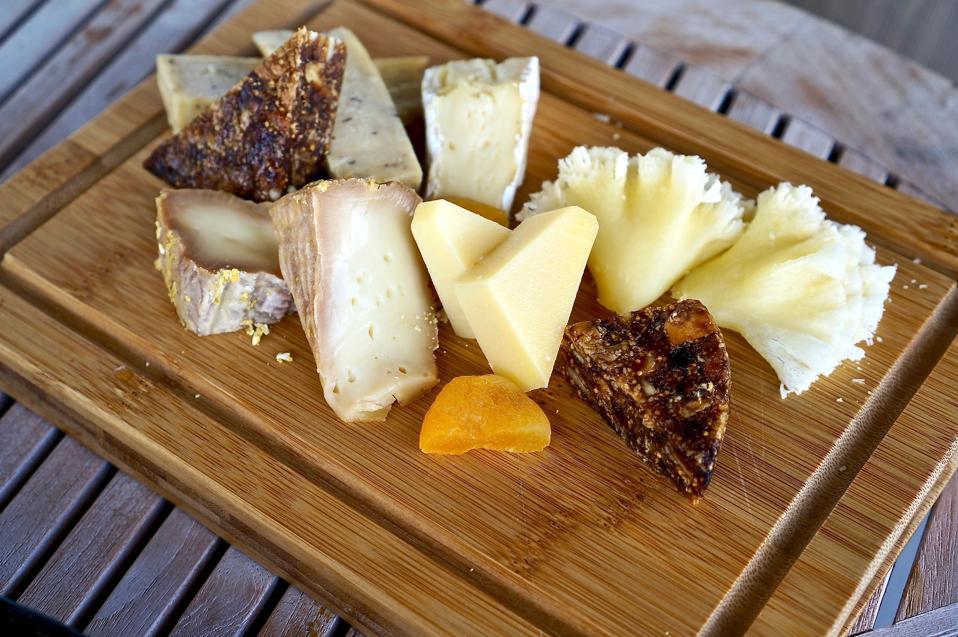 Cheese Plate Amber Gibson Kudadoo Luxury Travel Maldives