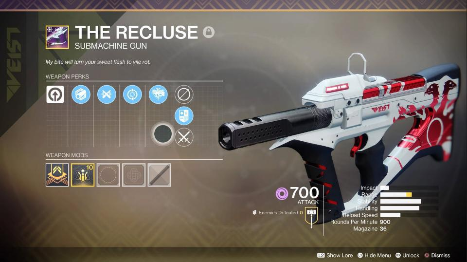 Fine, Let's Talk About Recluse And One-Eyed Mask Nerfs In 'Destiny 2'