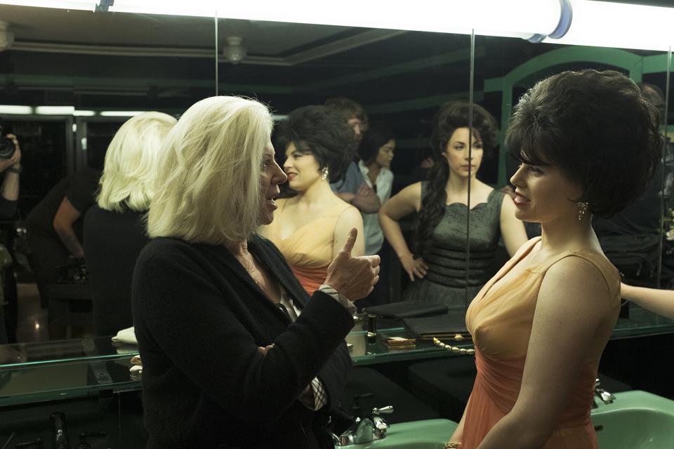 Director Callie Khouri on the set of ″Patsy & Loretta″