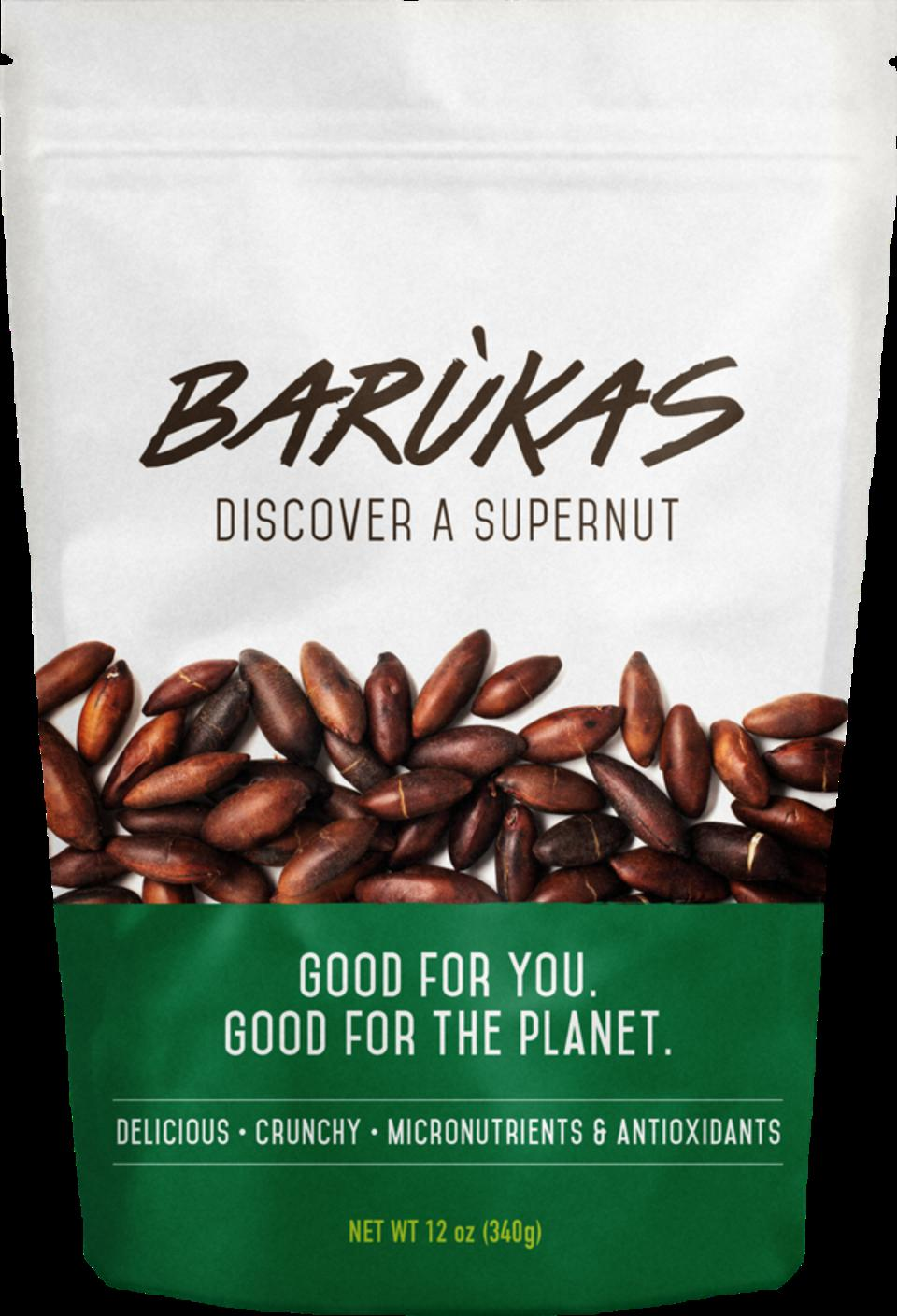 Barukas nuts from Brazil are sustainable and high in protein