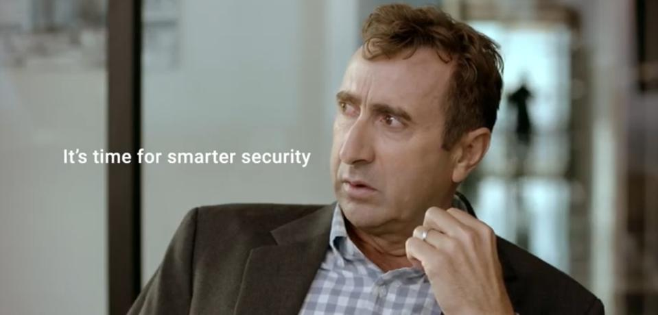 BlackBerry's new campaign for its cybersecurity products highlights accidental human error.