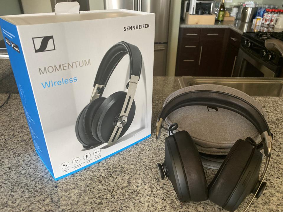 Sennheiser's new MOMENTUM Wireless headphones.