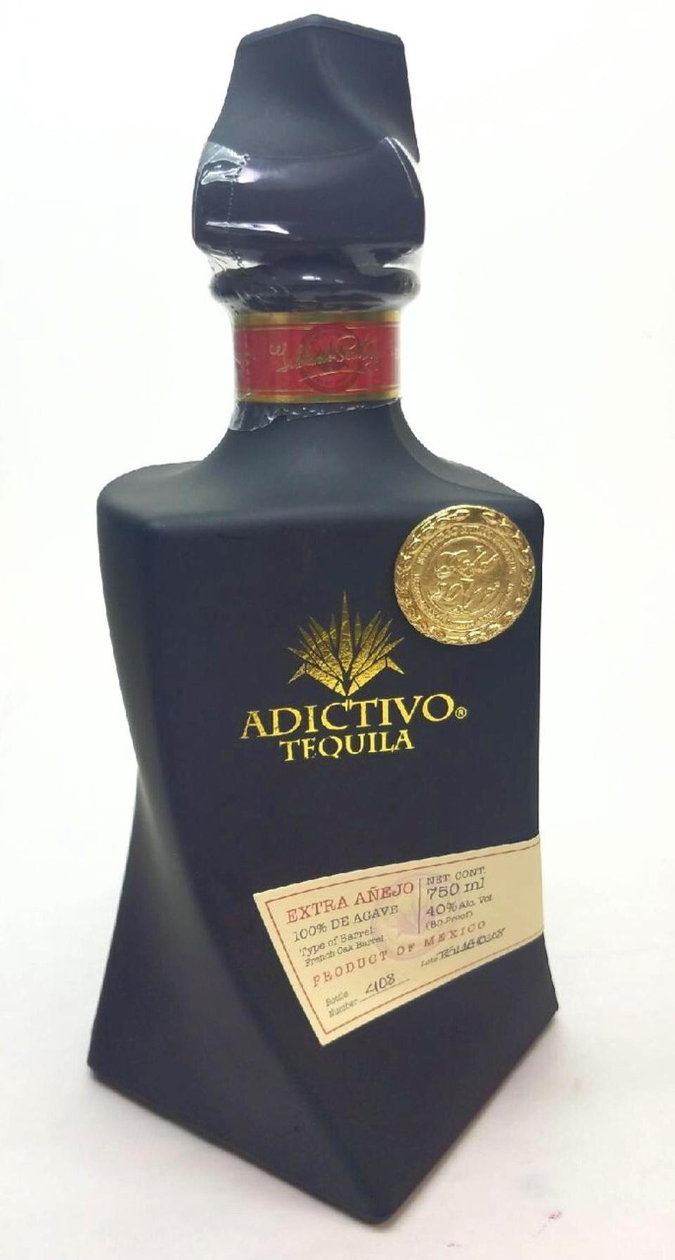 Adictivo tequila's limited edition Extra Añejo