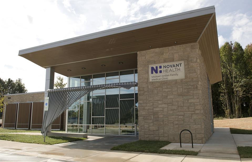 Novant Michael Jordan Family health care facility