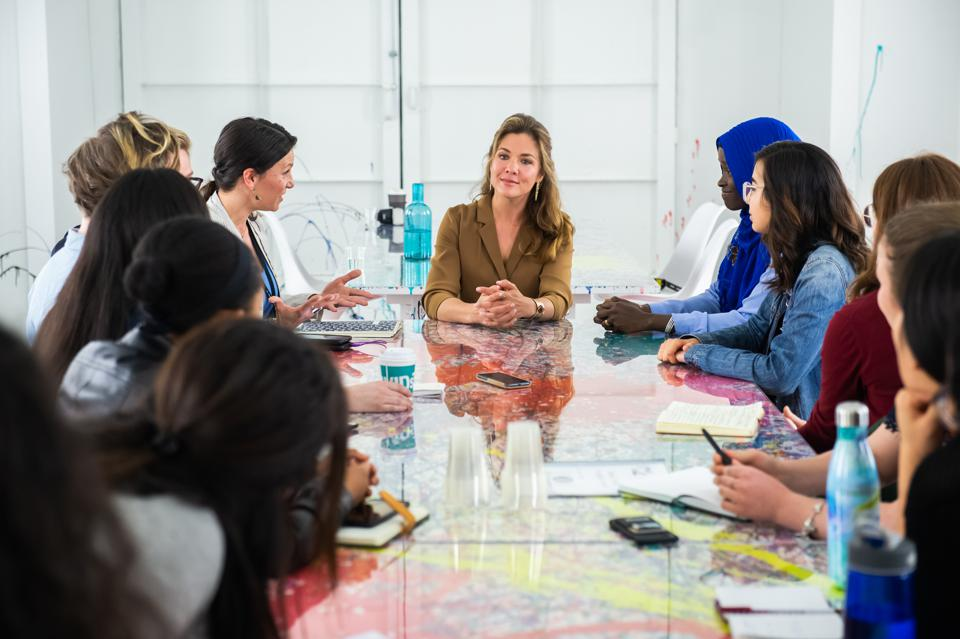 How To Take Mindfulness To The Next Level, An Exclusive With Sophie Grégoire Trudeau