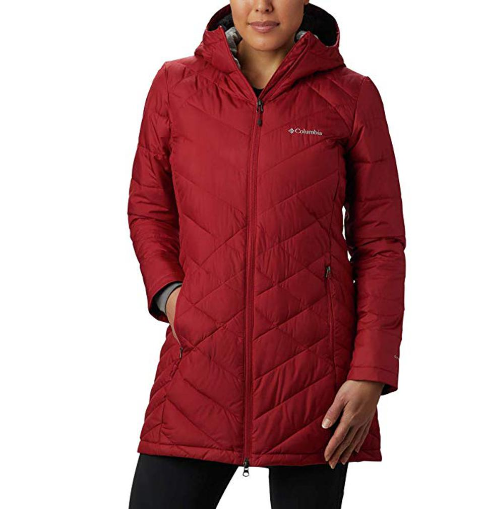 Columbia Women's Heavenly Long Hooded Jacket - Plus Size