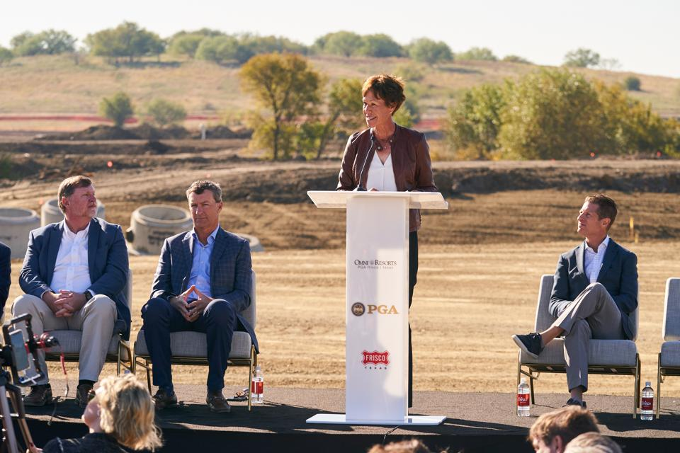 PGA of America President Suzy Whaley