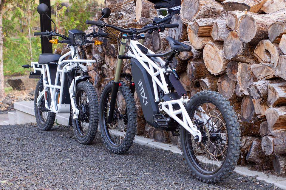 The UBCO FRX1 and the 2x2.