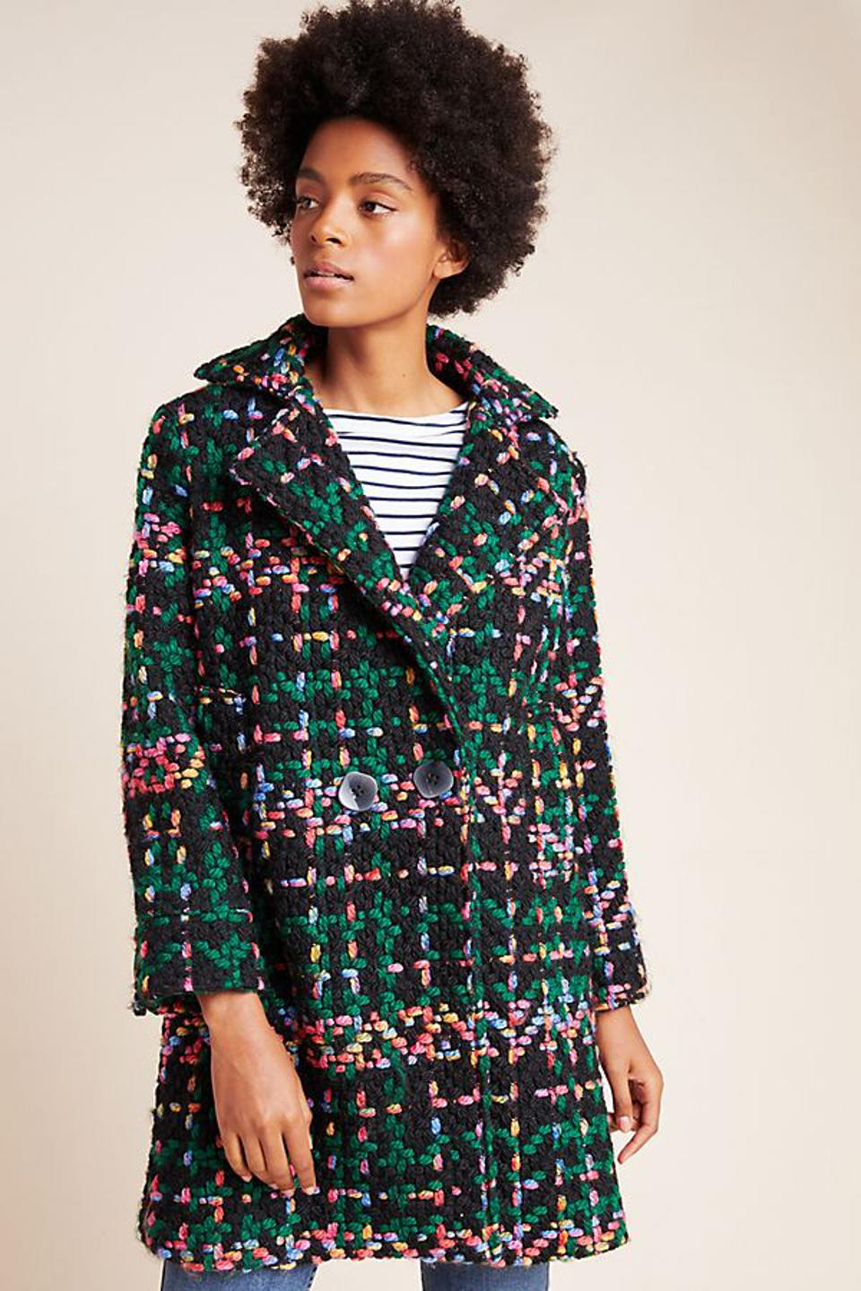 Anthropologie Piccadilly Coat