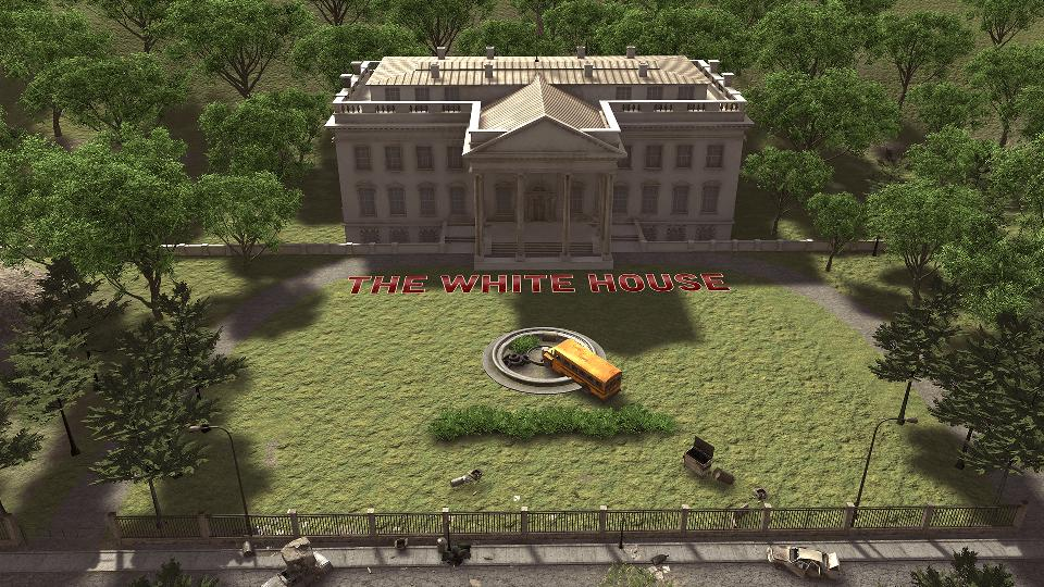 Review: 'Zombieland: Double Tap Road Trip' Is A Horrific ... on white house haunted house, white house helicopter, white house guns, white house shooting, white house papercraft, white house terrorist, white house bomb, white house secret passageways, white house makeover, white house christmas special, white house minecraft, white house sword, white house maze, white house coloring, white house ww2, white house hauntings, white house haunted history, white house conspiracies,
