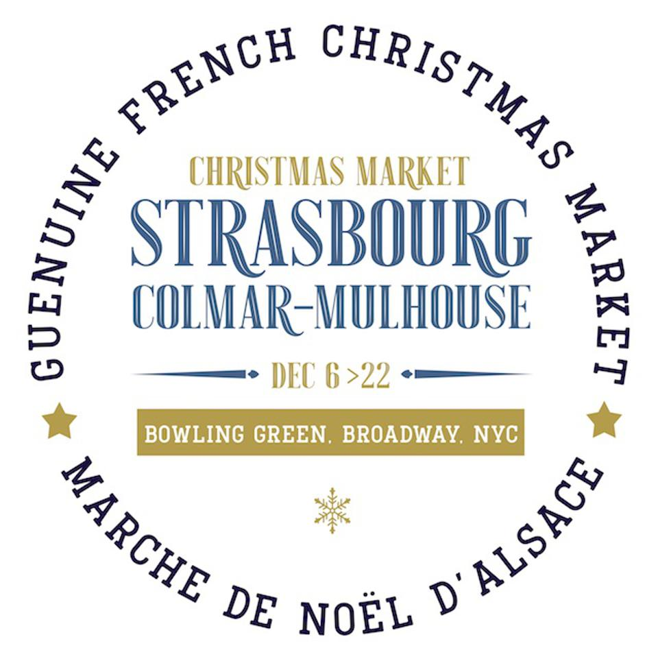 The Alsatian Strasbourg Christmas Market Comes to New York