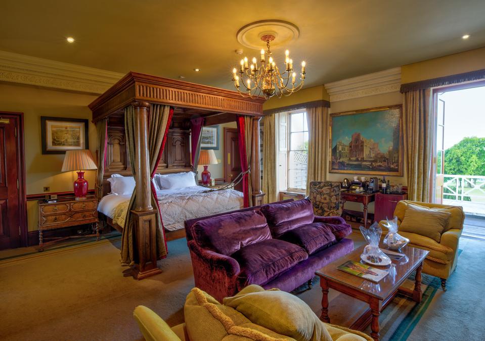A suite at Stoke Park