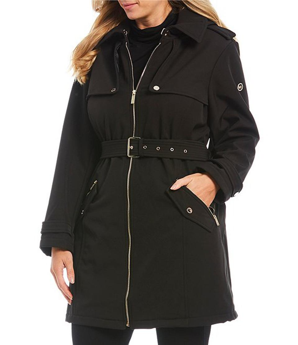 MICHAEL Michael Kors Plus Trench Coat