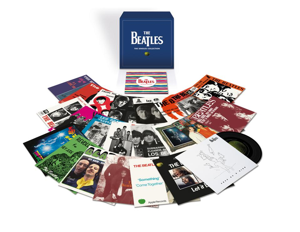 The Beatles Singles Collection Packshot