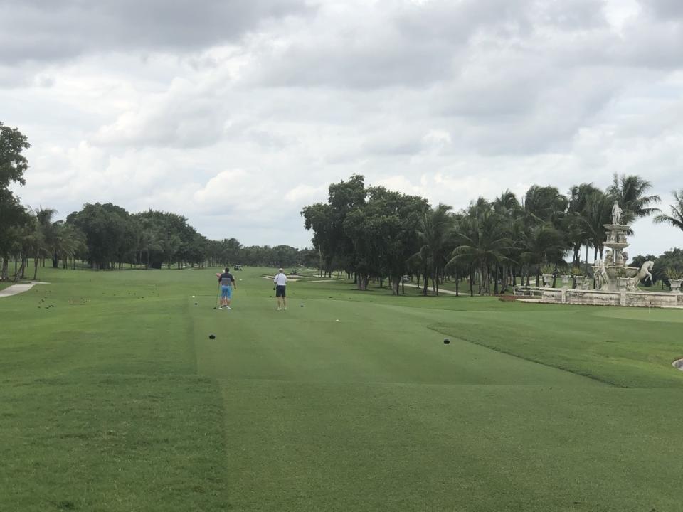 golf trump