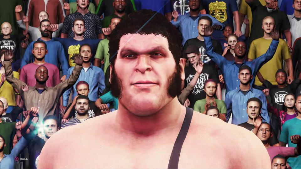 Andre the Giant WWE 2K20