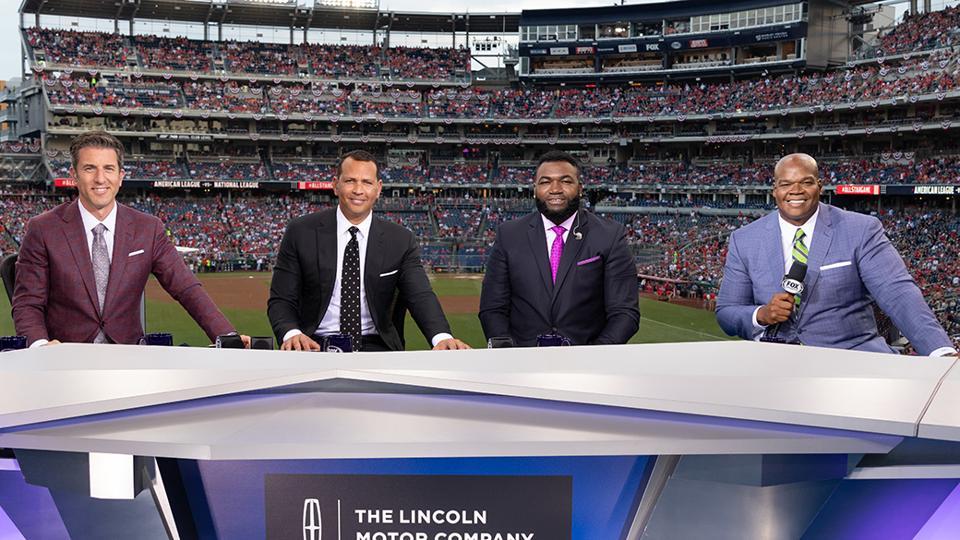MLB on Fox studio crew