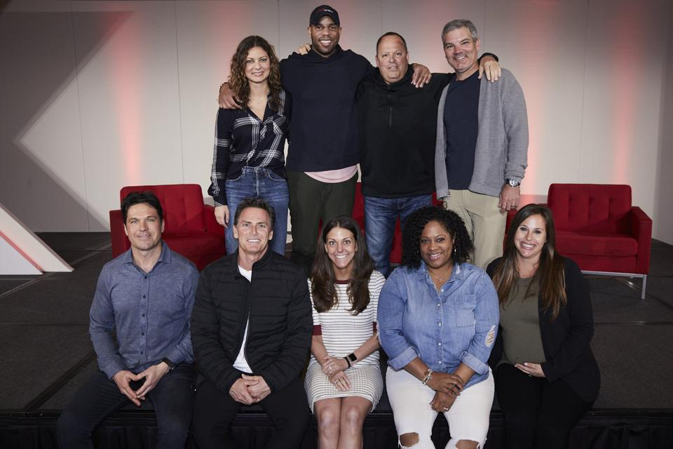 CAA agents including Pat Brisson, Nez Balelo, Austin Brown, Leon Rose and Jeff Berry.