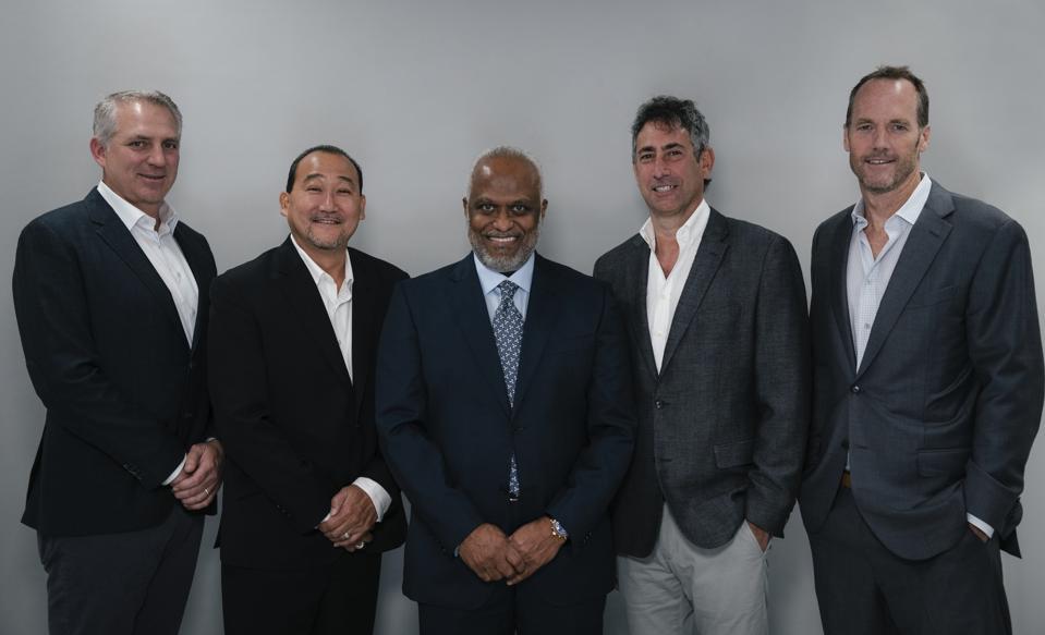 Wasserman agents Joel Wolfe, Darren Matsubara, Thad Foucher, Adam Katz and Doug Hendrickson.