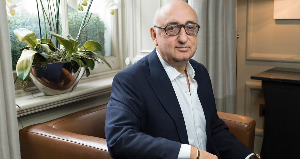 Jonathan Barnett, cofounder and chairman of the London-based Stellar Group.