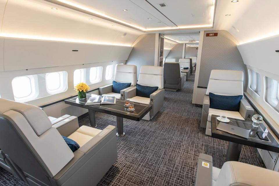 Surprising Inside Jet Edges New Boeing Business Jets Machost Co Dining Chair Design Ideas Machostcouk