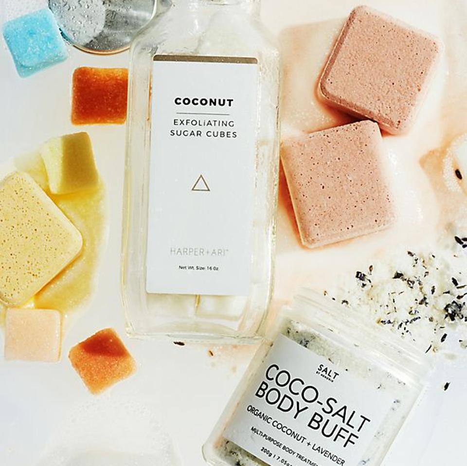 Exfoliating Sugar Cube Discovery Kit