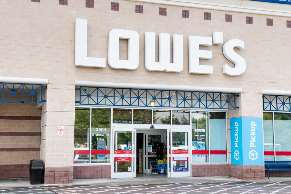 Lowe's Home Improvement store in Princeton, New Jersey on...