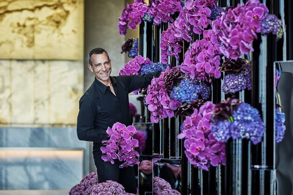 Jeff Leatham floral designer