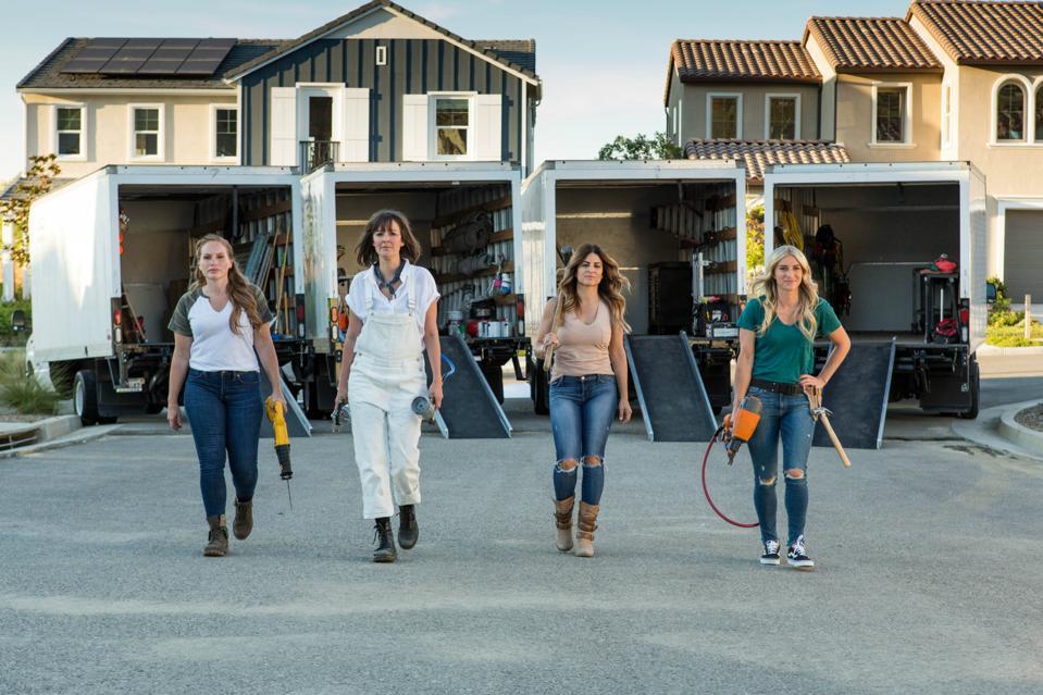 Female HGTV stars of 'Rock the Block'