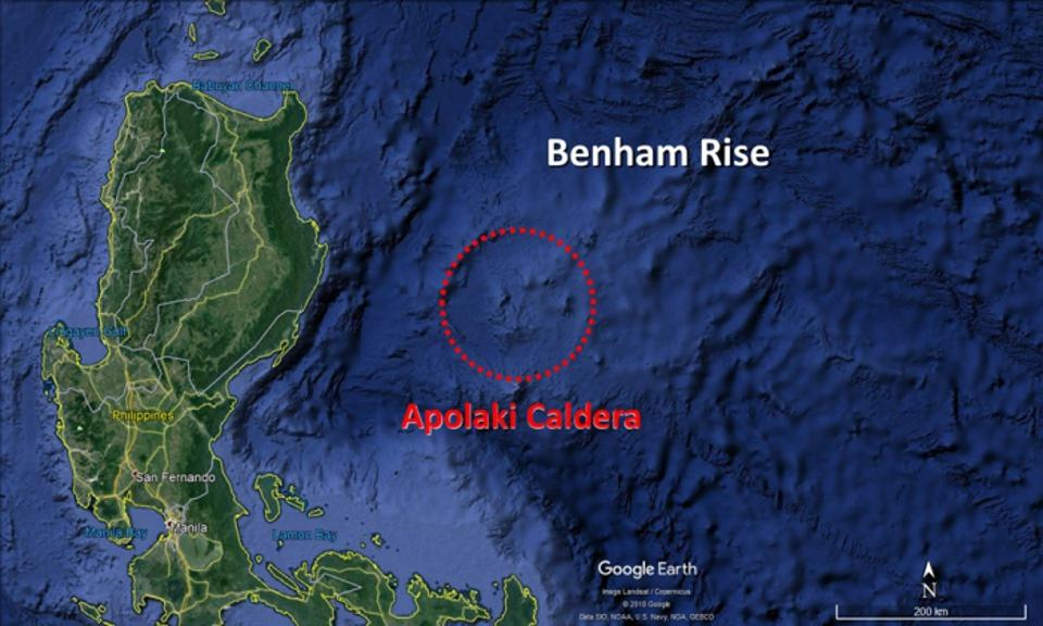 The World's Largest Caldera Lays Hidden In The Philippine Sea
