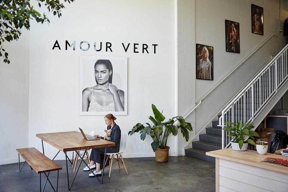 サンフランシスコにあるアムール・ヴェールの本社。