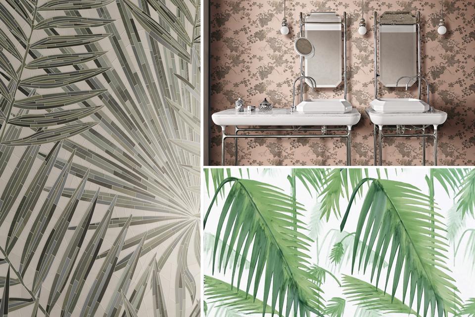 Flora-inspired tile