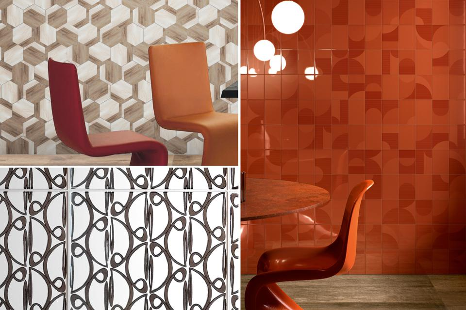 Psychedelic tile trend