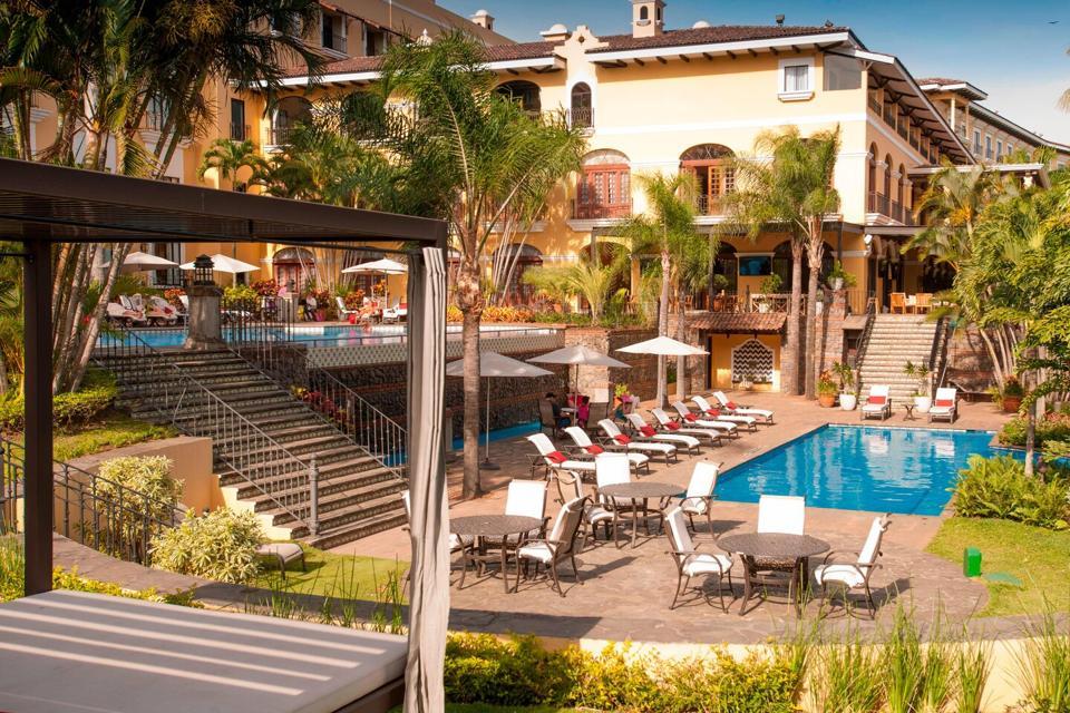The Costa Rica Marriott Hotel Hacienda Belen.