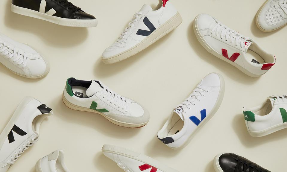 Veja Sneakers in partnership with Amour Vert.