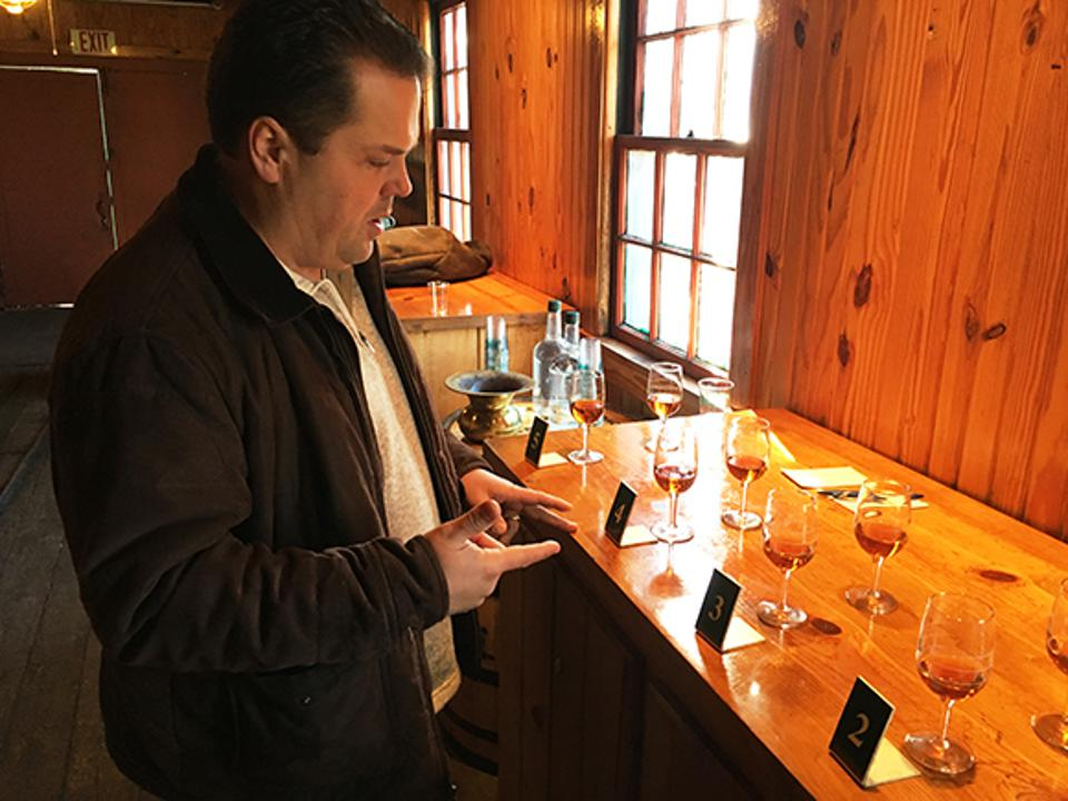 Buffalo Trace Master Distiller, Harlen Wheatley, walks us through the single barrel barrel selection process in 2016.