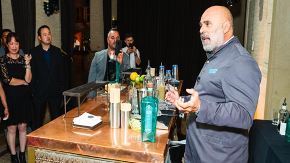 Tony at the Bently event.