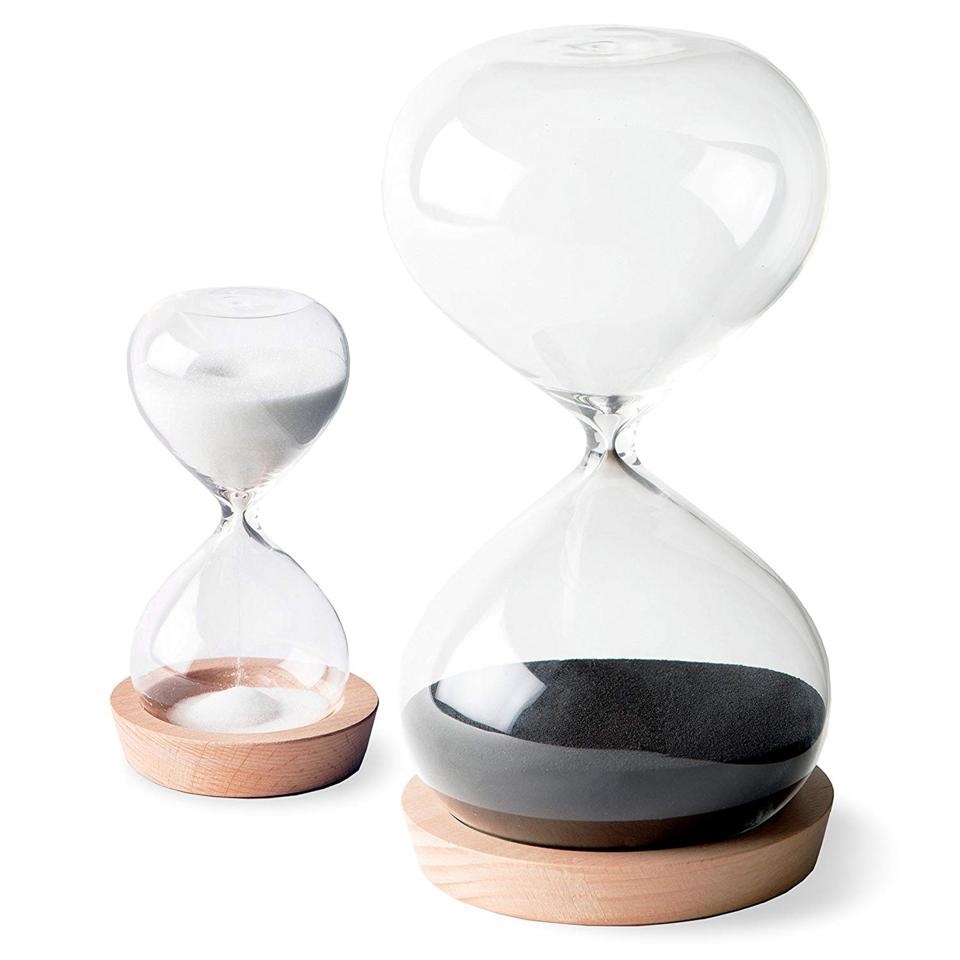 two sand timers