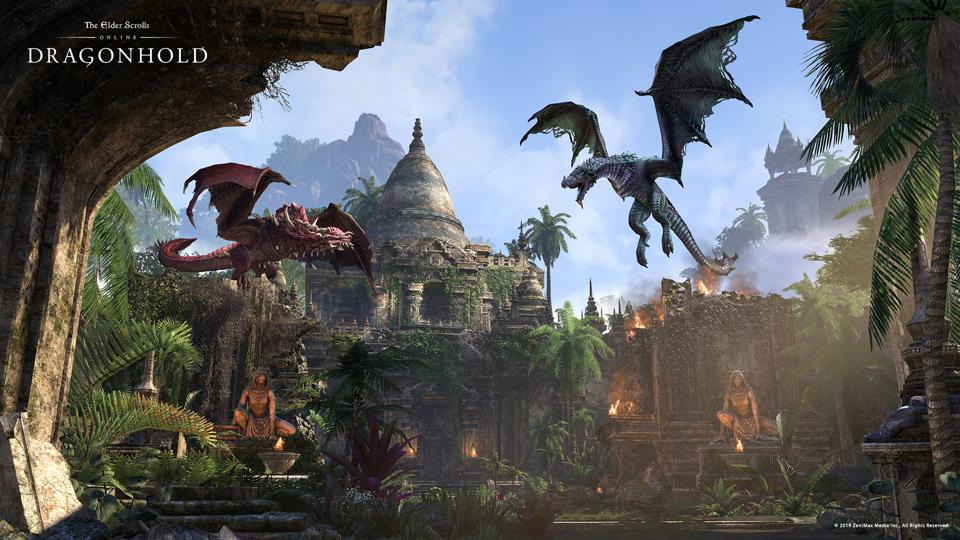 'Elder Scrolls Online' Final DLC For 2019 'Dragonhold' Now Out For PC/Mac