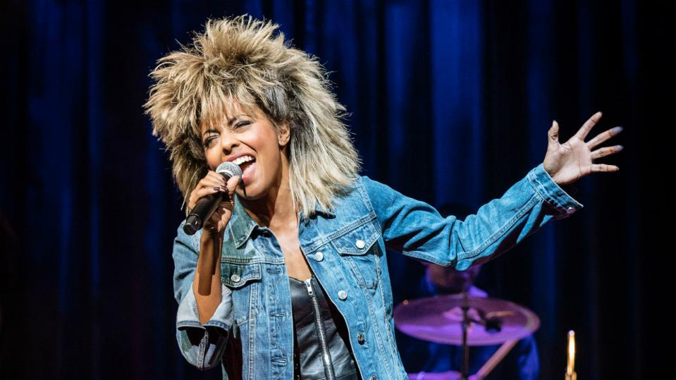 Tony nominee Adrienne Warren as Tina Turner in TINA - THE TINA TURNER MUSICAL