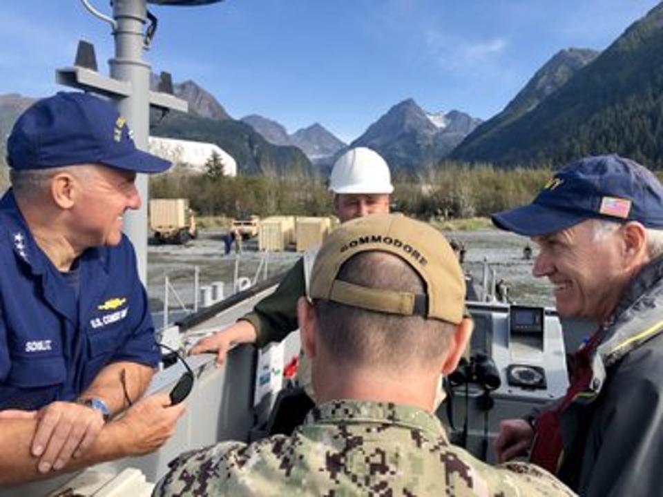 America's top maritime leaders confer.
